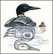 The Stitching Studio - Loon & Chick