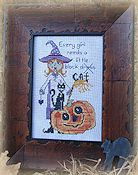 Designs By Lisa - Little Black Cat THUMBNAIL