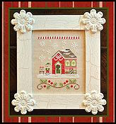 Country Cottage Needleworks - Santa's Village - Elves' Workshop THUMBNAIL