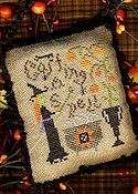Homespun Elegance - A Halloween Year II - June - Casting A Spell