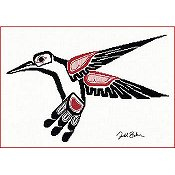The Stitching Studio - Salish Hummingbird