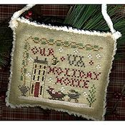 Homespun Elegance - 2013 Sampler Ornament - Your State Holiday Home