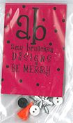 Amy Bruecken Designs - Be Merry Embellishment Pack