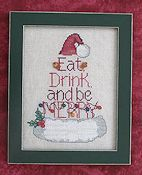 Waxing Moon Designs - Eat, Drink & Be Merry THUMBNAIL