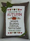 Cherry Hill Stitchery - Welcome To Autumn