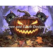 Heaven and Earth Designs - Scaredy Cats THUMBNAIL