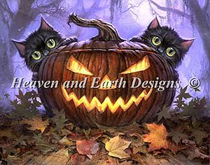 Heaven and Earth Designs - Scaredy Cats MAIN
