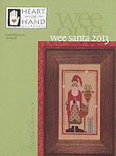 Heart In Hand Needleart - Wee One - Wee Santa 2013