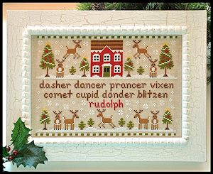 Country Cottage Needleworks - Reindeer Games MAIN