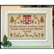 Country Cottage Needleworks - Reindeer Games THUMBNAIL