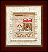Country Cottage Needleworks - Santa's Village - Hot Cocoa Cafe THUMBNAIL