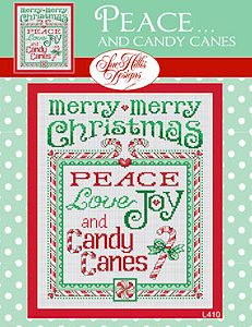 Sue Hillis Designs - Peace...And Candy Canes MAIN