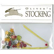 Shepherd's Bush - Oliver's Stocking Embellishment Pack