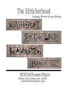 The Stitcherhood - Halloween Signs
