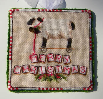 Blackberry Lane Designs - Baa, Baa Pull Along