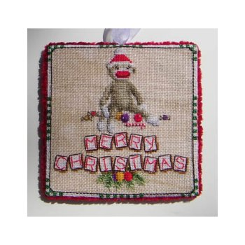 Blackberry Lane Designs - Sock Monkey Christmas