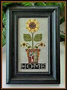 Little House Needleworks - Home is Where the Sunflowers Grow THUMBNAIL