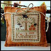 Little House Needleworks - Little Sheep Virtue #10 Kindness THUMBNAIL