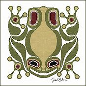 The Stitching Studio - Squamish Frog