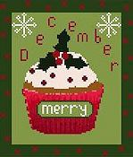 OMG! - Cupcake of the Month Series - December THUMBNAIL