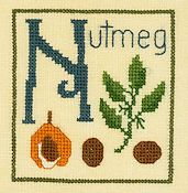 Elizabeth's Designs - N is for Nutmeg