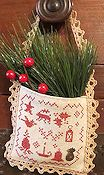 Homespun Elegance - Colonial Christmas - A Hanging Pocket