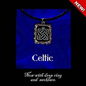 Carousel Charts - Celtic Necklace & Pendant Kit