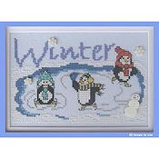Designs By Lisa - Winter on Penguin Pond
