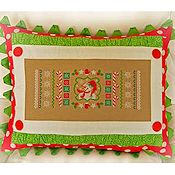Cherry Hill Stitchery - Christmas Candy Cane Sampler THUMBNAIL