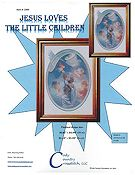 Cody Country Cross Stitch - Jesus Loves The Little Children THUMBNAIL