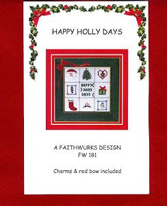 Faithwurks Designs - Happy Holly Days MAIN