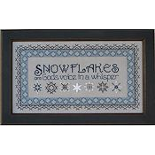 Annalee Waite Designs - Snowflakes In Blue