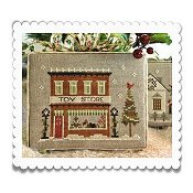 Little House Needleworks - Hometown Holiday Series - #5 Toy Store