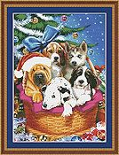 Kustom Krafts - Christmas Puppies THUMBNAIL