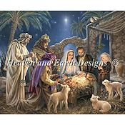 Heaven and Earth Designs - The Nativity