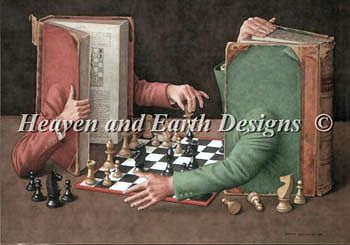 Heaven and Earth Designs - Chess Game Books MAIN