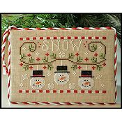 Country Cottage Needleworks - Snowmen Trio THUMBNAIL