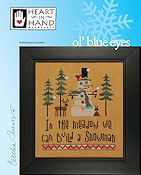 Heart In Hand Needleart - Ol' Blue Eyes THUMBNAIL