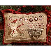 Homespun Elegance - Country Spirits Collection - Delivering Peppermints & Candy Canes THUMBNAIL