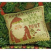 Homespun Elegance - Merry Noel Collection - You Better Not Pout