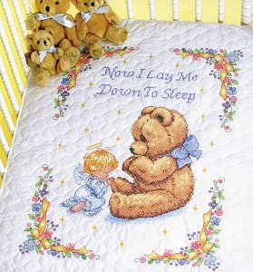 Dimensions Kit - Sweet Prayer Quilt MAIN