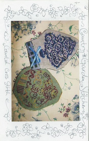 Country Garden Stitchery - Christmas Tree in Blue