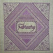 Northern Expressions Needlework - Birthstone Series - February Amethyst THUMBNAIL