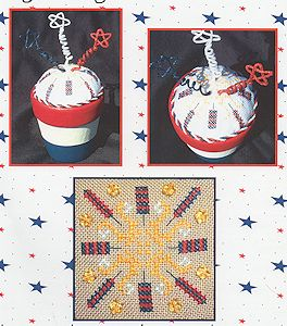 Flowers 2 Flowers - Patriotic Pincushion MAIN