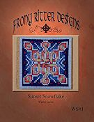 Frony Ritter Designs - Sunset Snowflake
