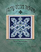 Frony Ritter Designs - Mint Snowflake