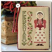 Little House Needleworks - Calendar Girls #2 - February THUMBNAIL