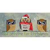 MarNic Designs - Owl Be Home For Christmas THUMBNAIL