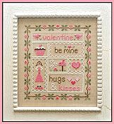 Country Cottage Needleworks - Be My Valentine THUMBNAIL
