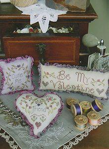 Shepherd S Bush Valentine Trifles Cross Stitch